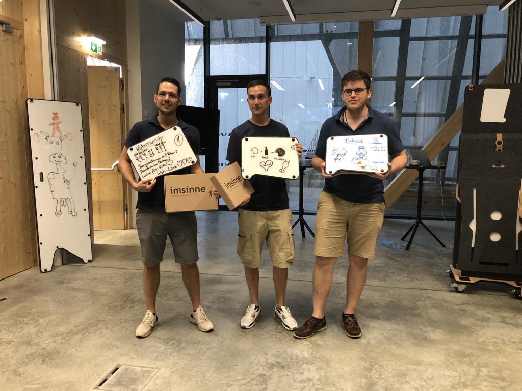 graz unicorn visual thinking und innovationsspiel